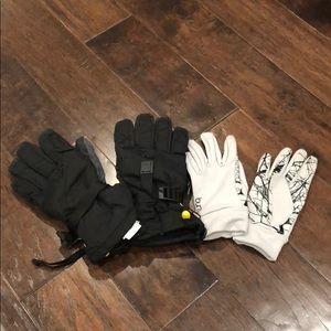 Burton gortex ski gloves